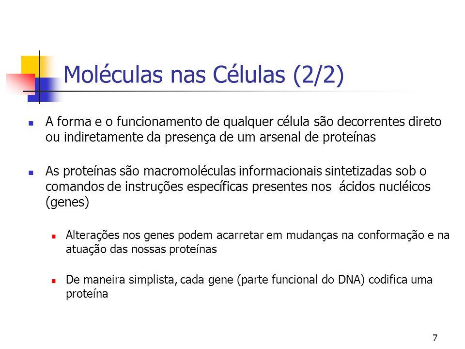 Moléculas nas Células (2/2)