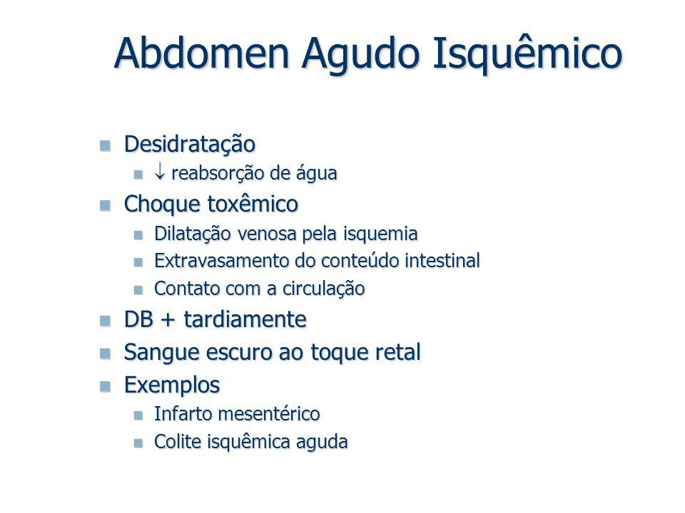 Abdomen Agudo Isquêmico
