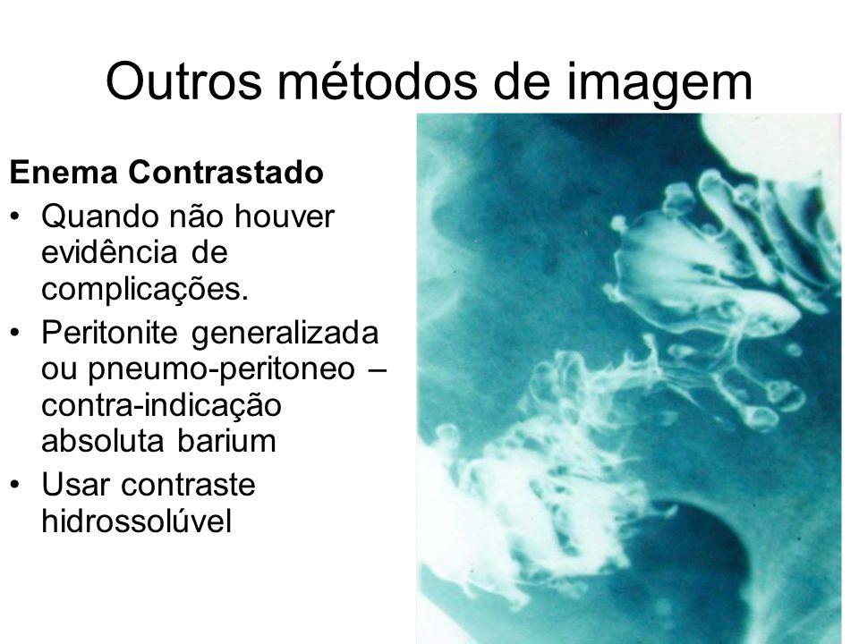 Outros métodos de imagem