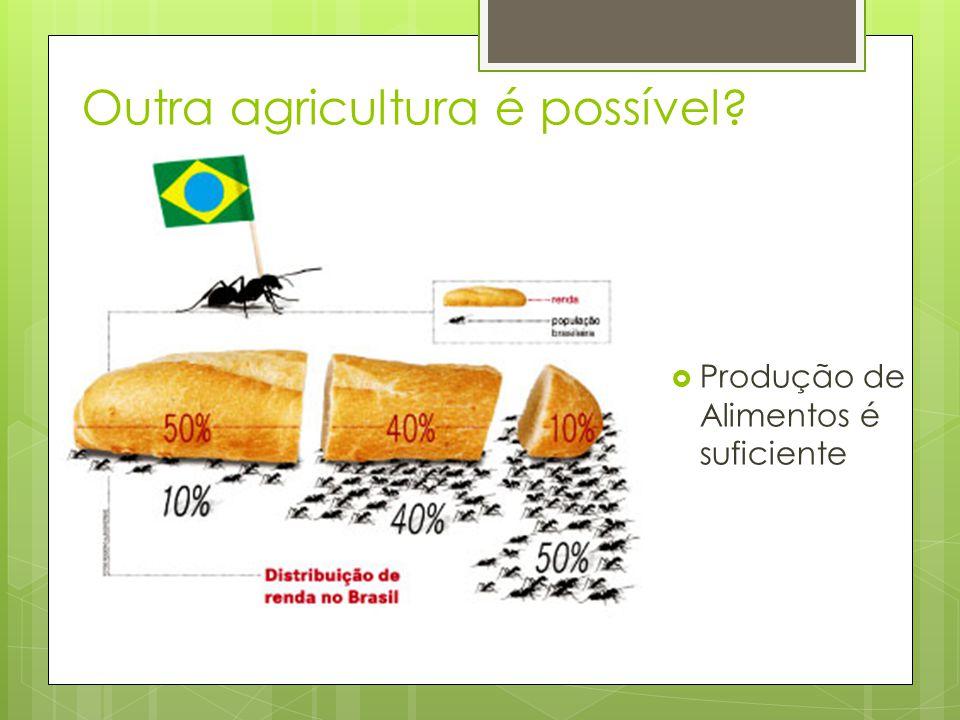 Outra agricultura é possível