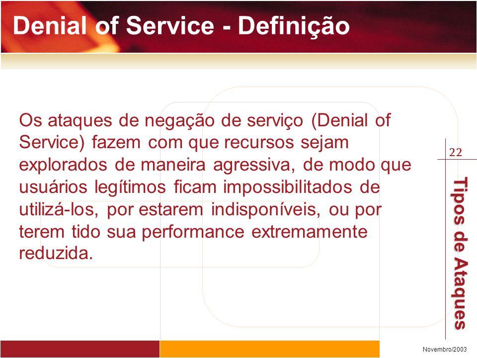 Denial of Service - Definição