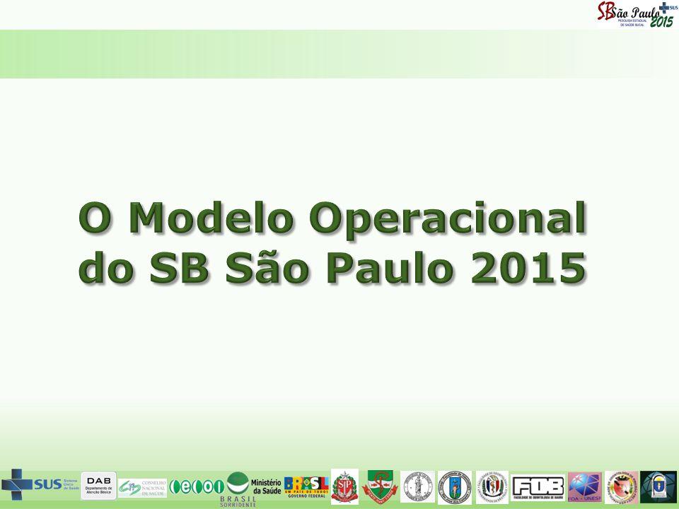 O Modelo Operacional do SB São Paulo 2015