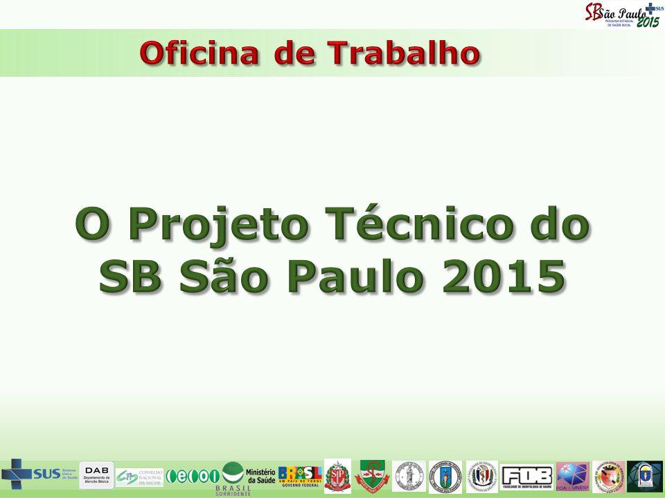 O Projeto Técnico do SB São Paulo 2015