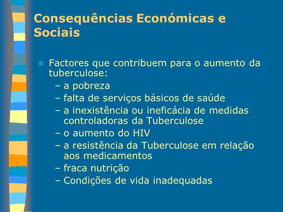Consequências Económicas e Sociais