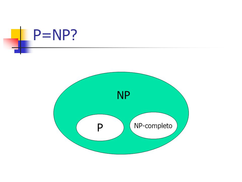 P=NP P NP-completo NP