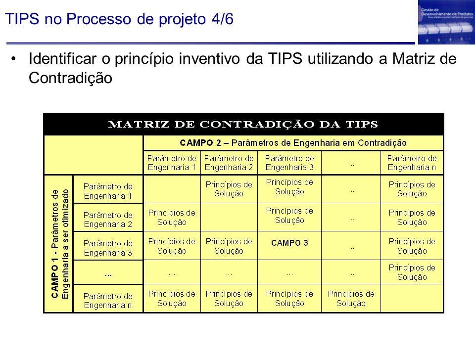 TIPS no Processo de projeto 4/6