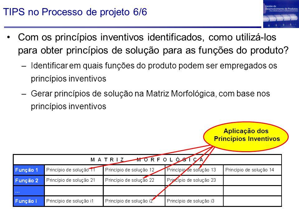 TIPS no Processo de projeto 6/6