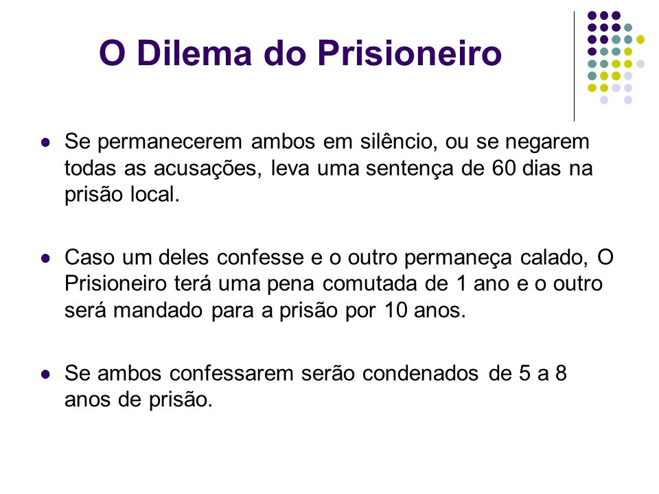 O Dilema do Prisioneiro