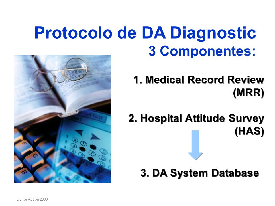 Protocolo de DA Diagnostic