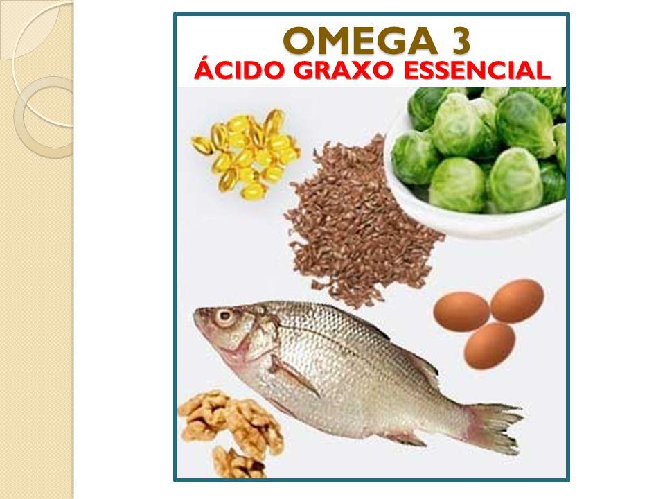 OMEGA 3 ÁCIDO GRAXO ESSENCIAL