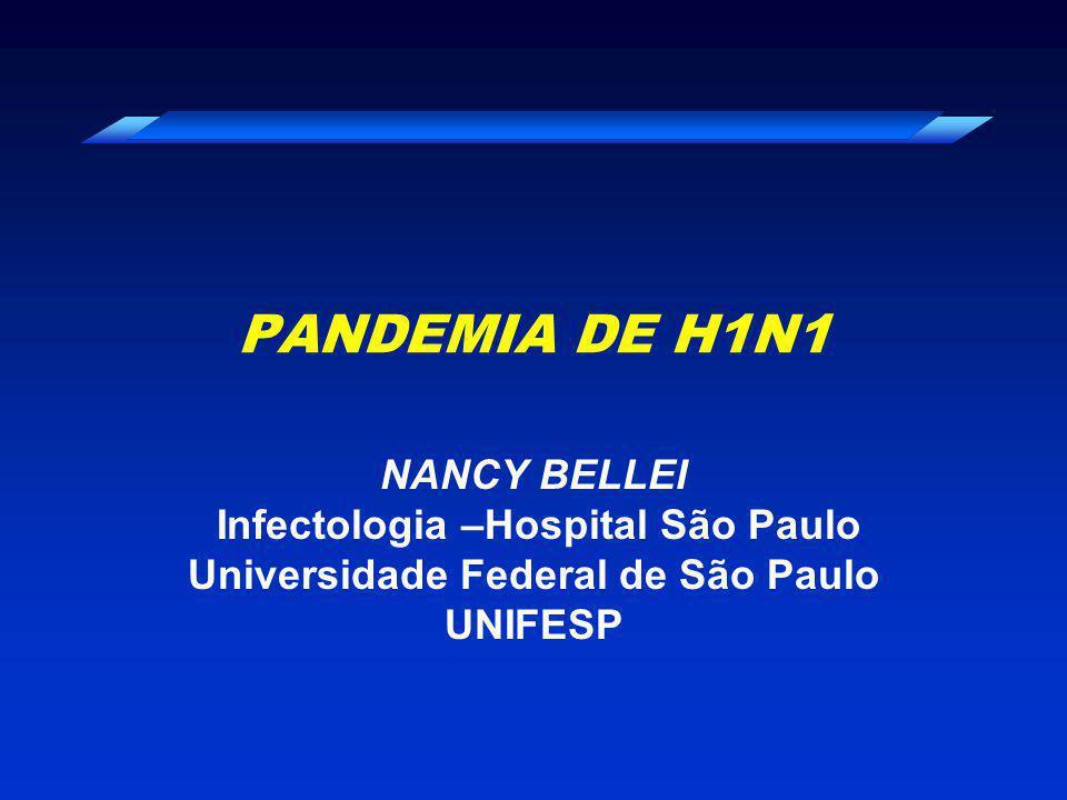 Infectologia –Hospital São Paulo Universidade Federal de São Paulo