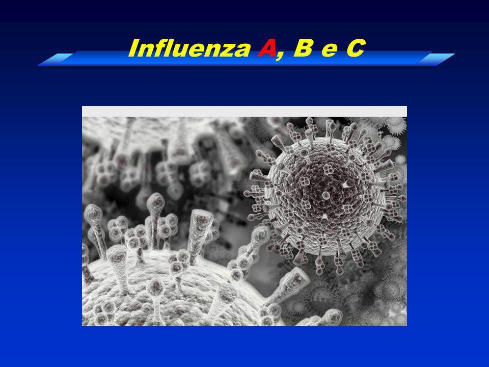 Influenza A, B e C
