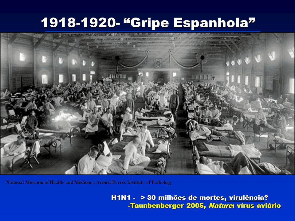 1918-1920- Gripe Espanhola