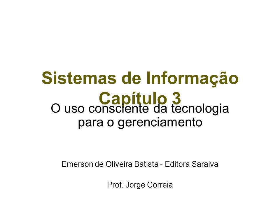 Sistemas de Informação Capítulo 3