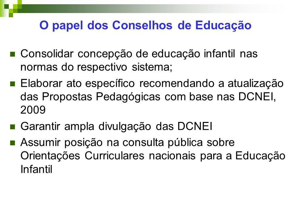O papel dos Conselhos de Educação