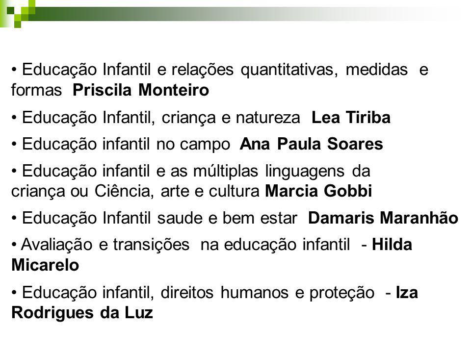 Educação Infantil e relações quantitativas, medidas e formas Priscila Monteiro