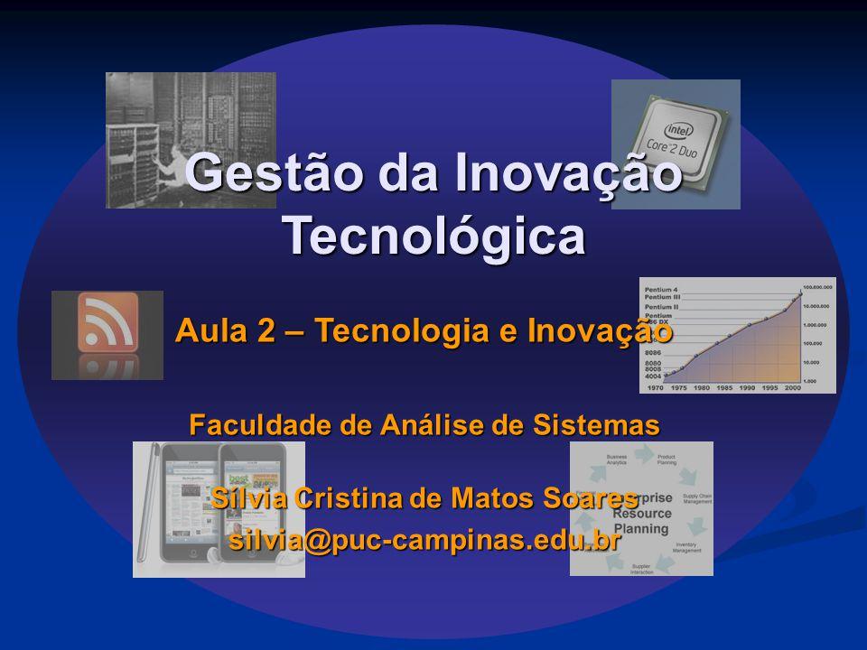 Gestão da Inovação Tecnológica