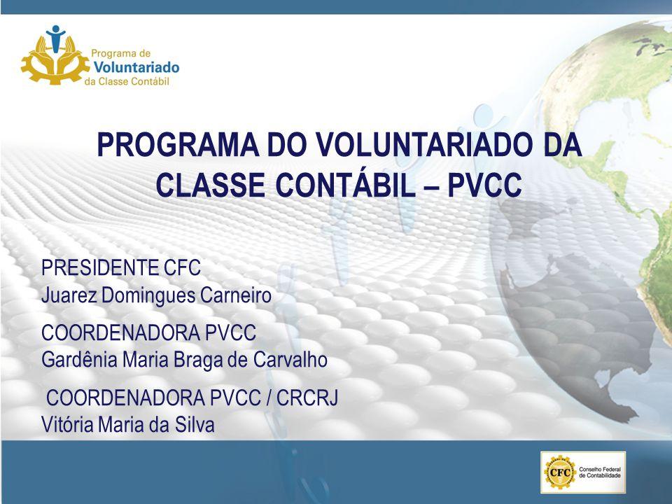 PROGRAMA DO VOLUNTARIADO DA CLASSE CONTÁBIL – PVCC