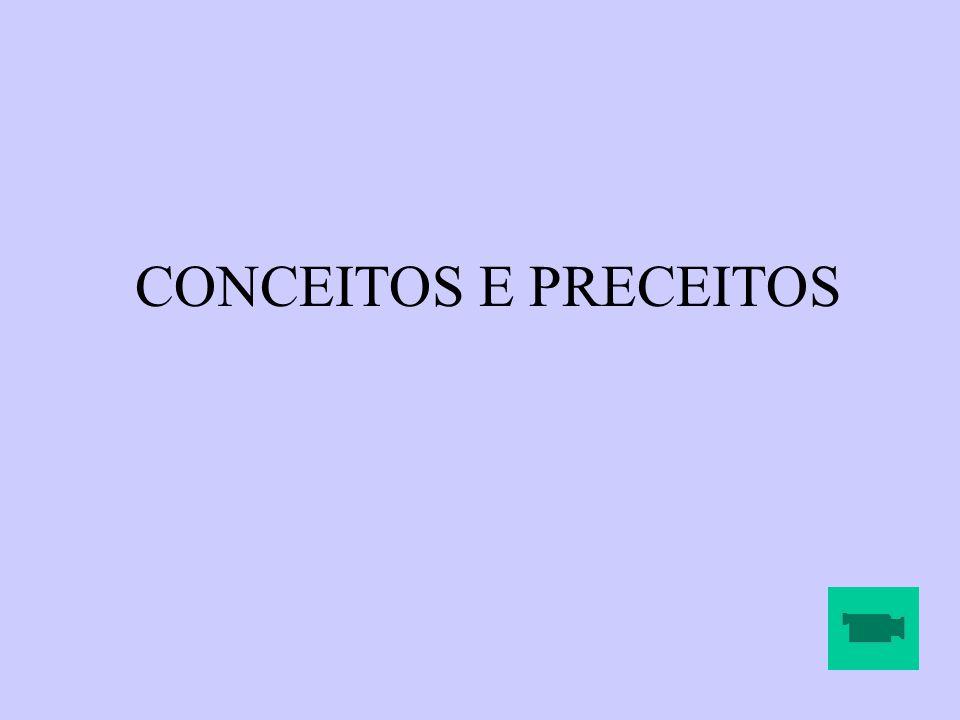 CONCEITOS E PRECEITOS APRESENTAÇÃO VÍDEO NOVELA