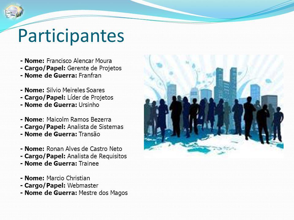 Participantes - Nome: Francisco Alencar Moura