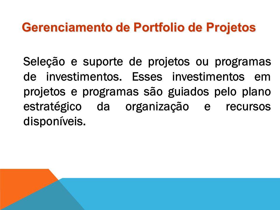 Gerenciamento de Portfolio de Projetos