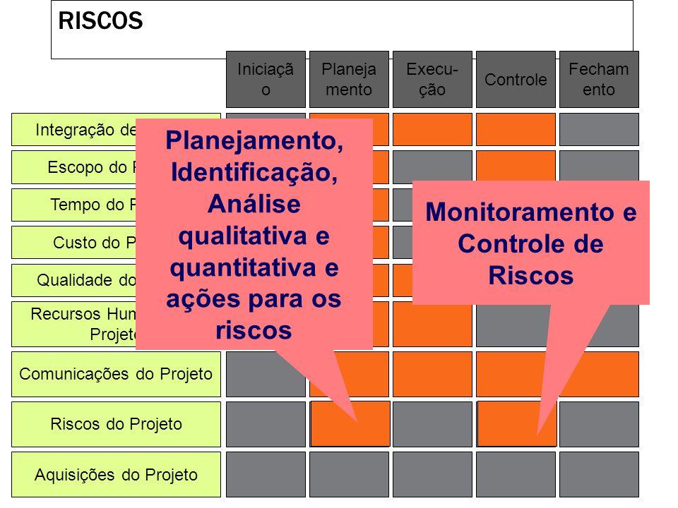 Monitoramento e Controle de Riscos