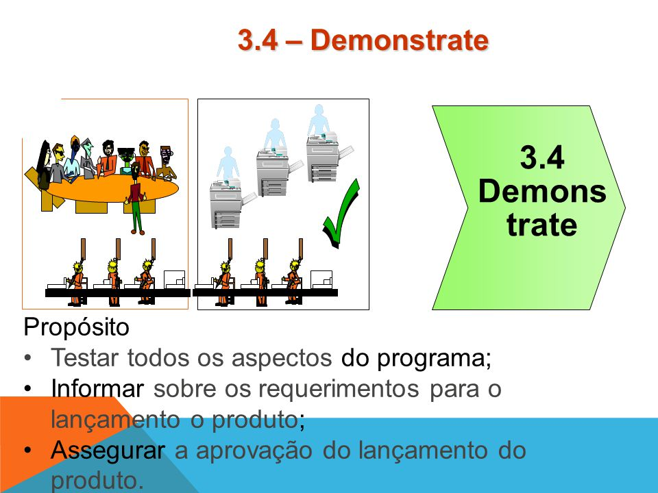 3.4 Demons trate 7 3.4 – Demonstrate Propósito