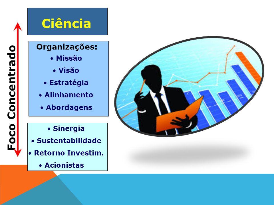 Ciência Foco Concentrado Organizações: Missão Visão Estratégia
