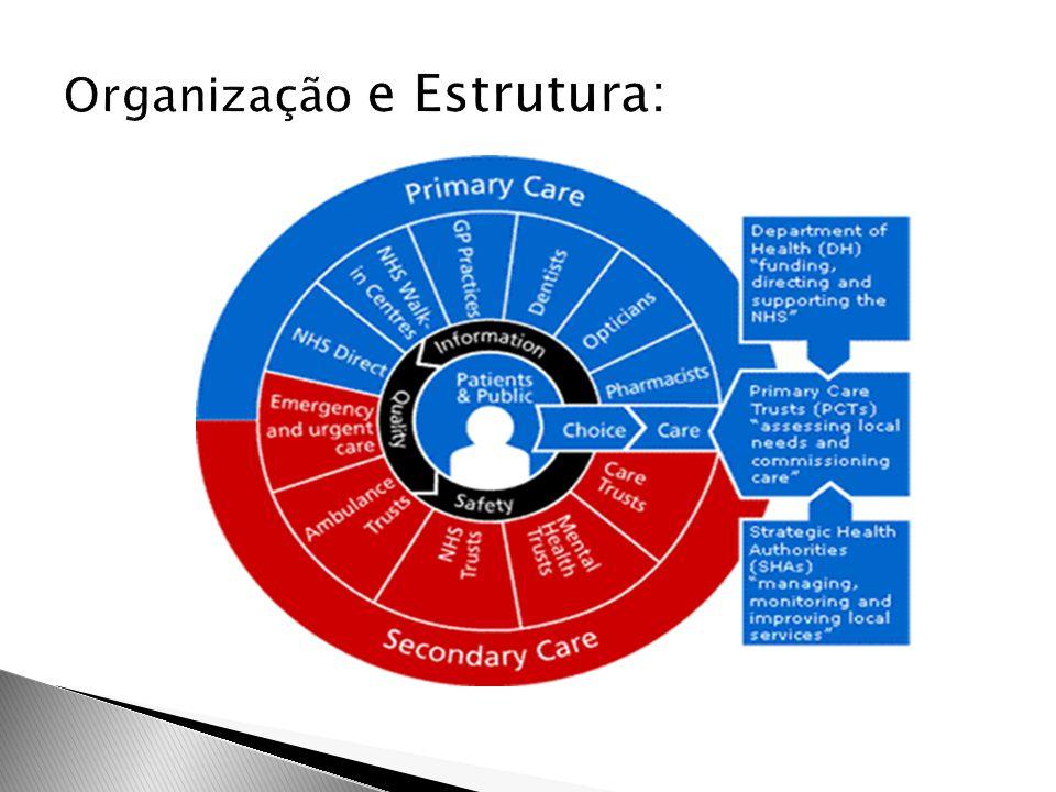 Organização e Estrutura:
