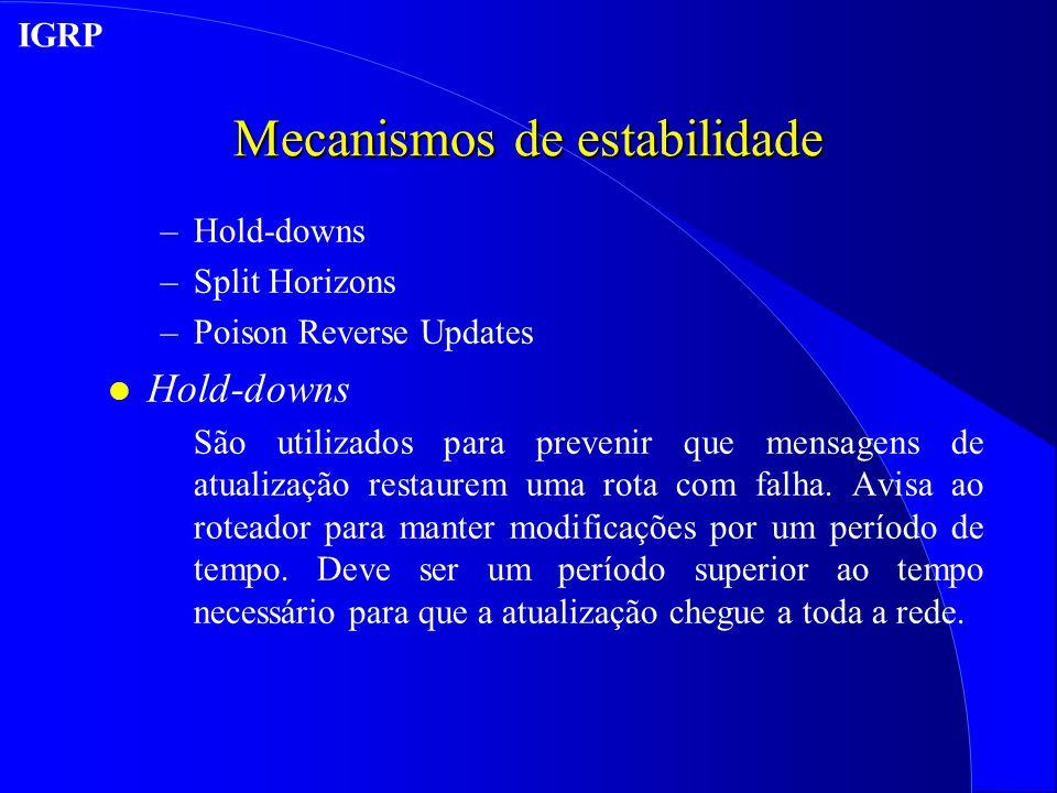 Mecanismos de estabilidade
