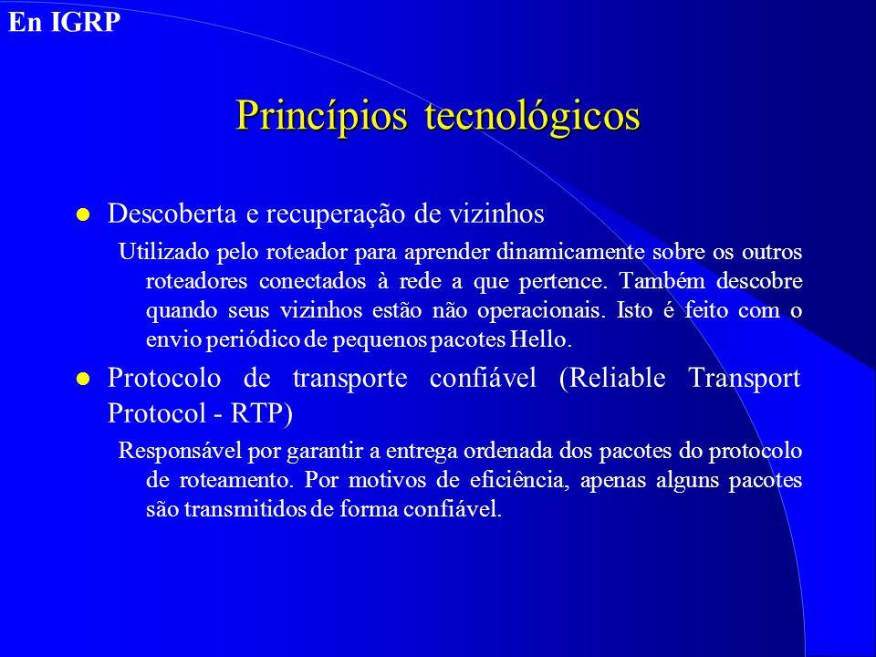 Princípios tecnológicos