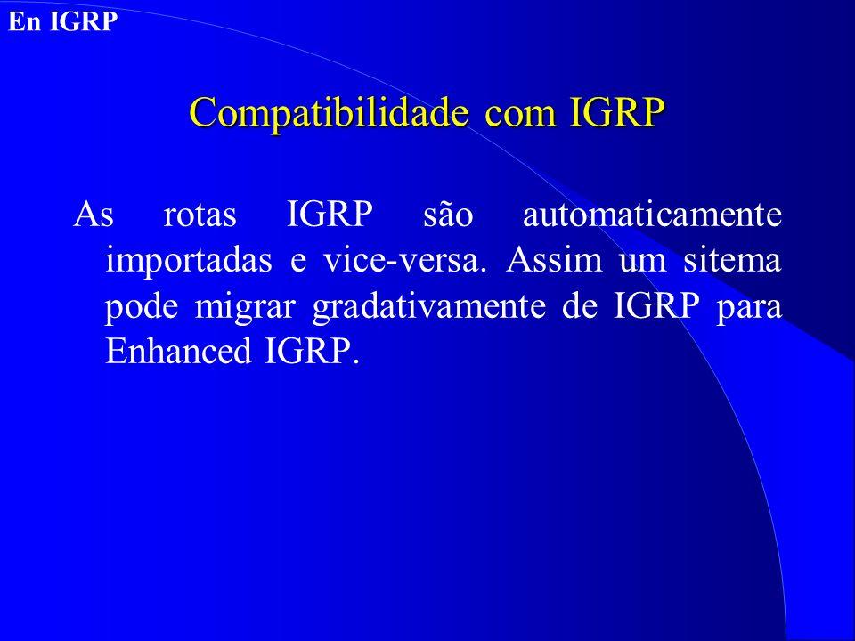 Compatibilidade com IGRP