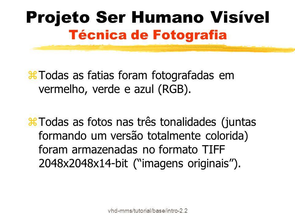 Projeto Ser Humano Visível Técnica de Fotografia