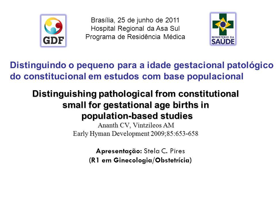 (R1 em Ginecologia/Obstetrícia)