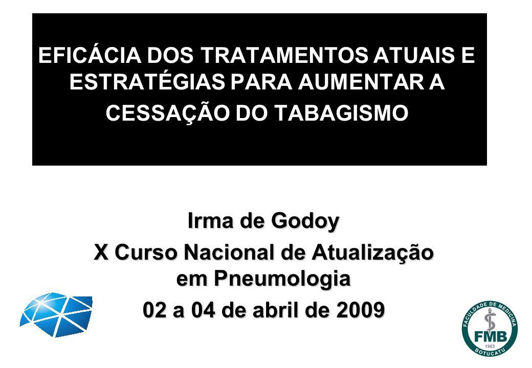 X Curso Nacional de Atualização em Pneumologia