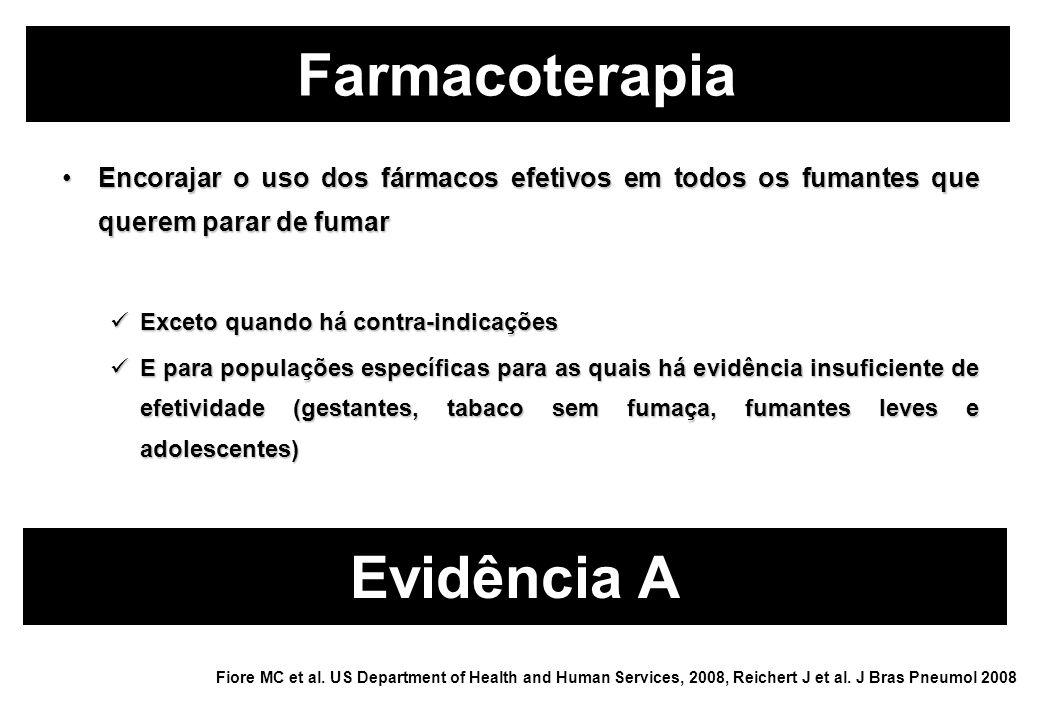 Farmacoterapia Evidência A