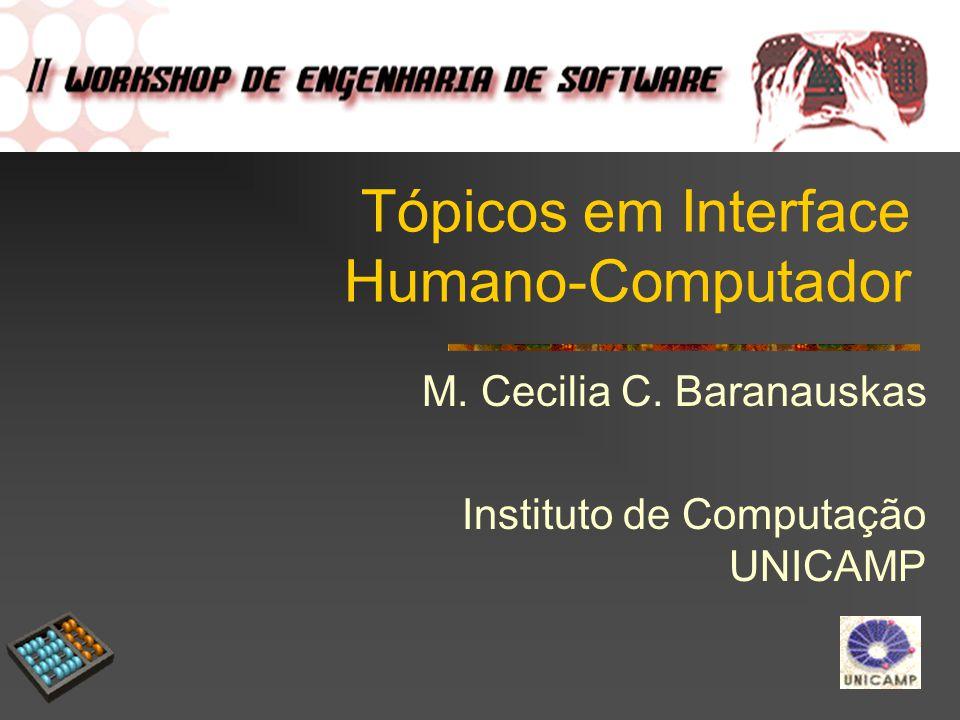 Tópicos em Interface Humano-Computador