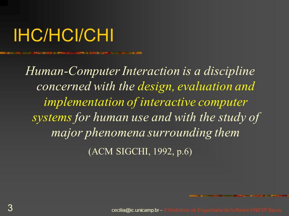 IHC/HCI/CHI