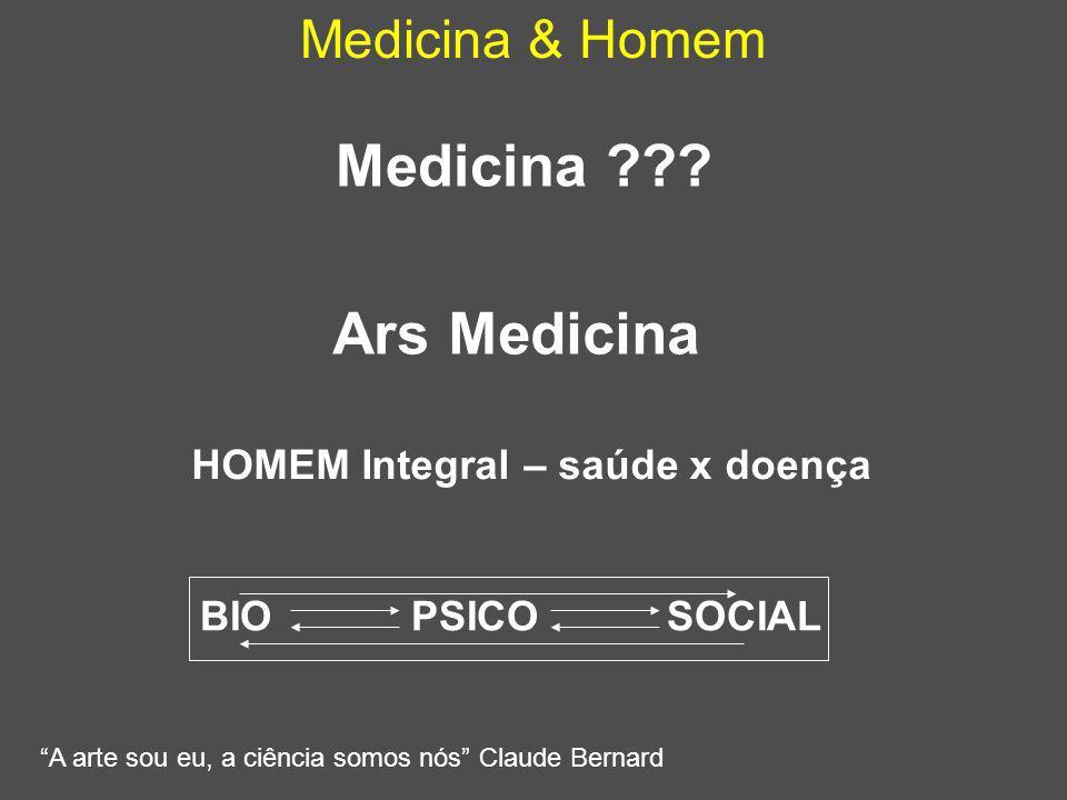 Medicina Ars Medicina Medicina & Homem