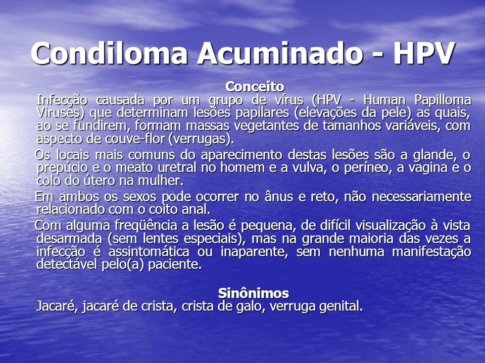Condiloma Acuminado - HPV