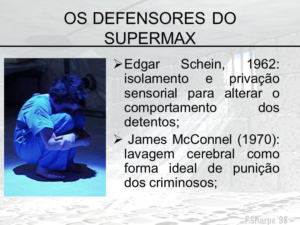 OS DEFENSORES DO SUPERMAX