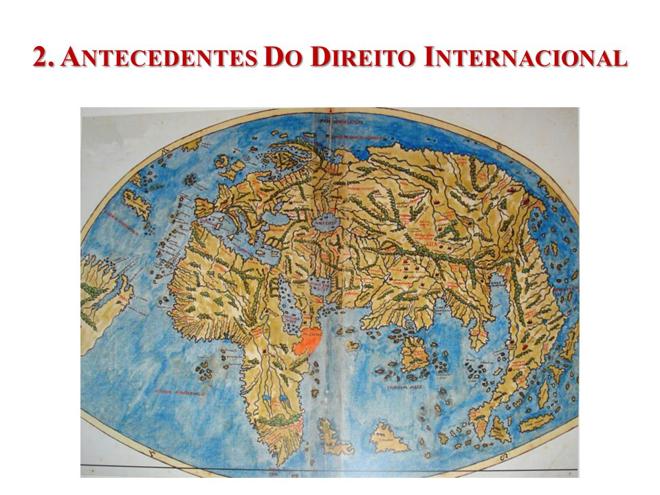 2. Antecedentes Do Direito Internacional