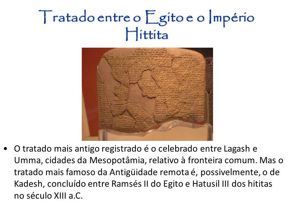 Tratado entre o Egito e o Império Hittita
