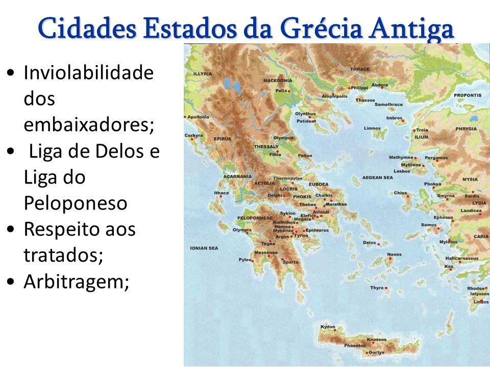 Cidades Estados da Grécia Antiga
