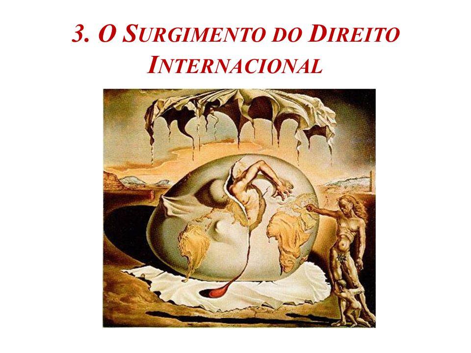 3. O Surgimento do Direito Internacional