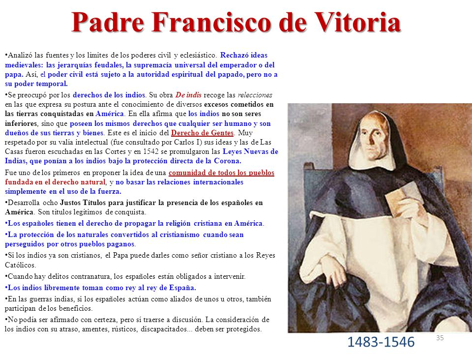 Padre Francisco de Vitoria