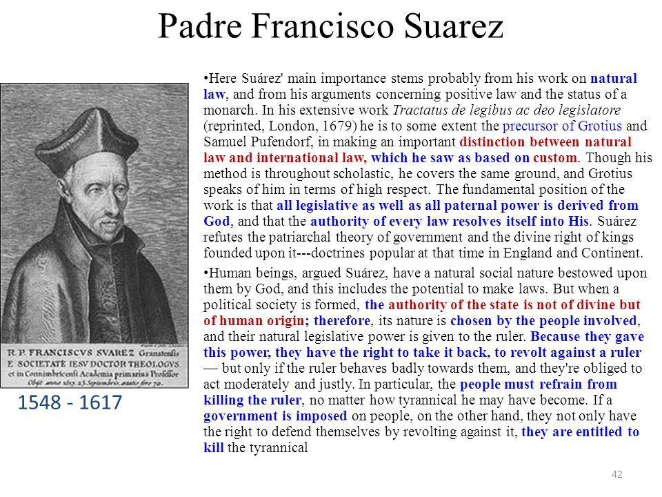 Padre Francisco Suarez