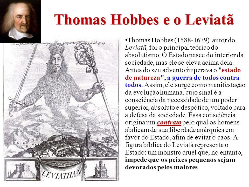 Thomas Hobbes e o Leviatã
