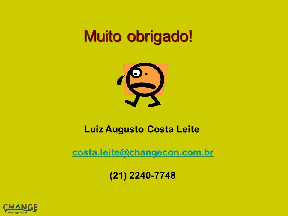 Luiz Augusto Costa Leite costa.leite@changecon.com.br (21) 2240-7748