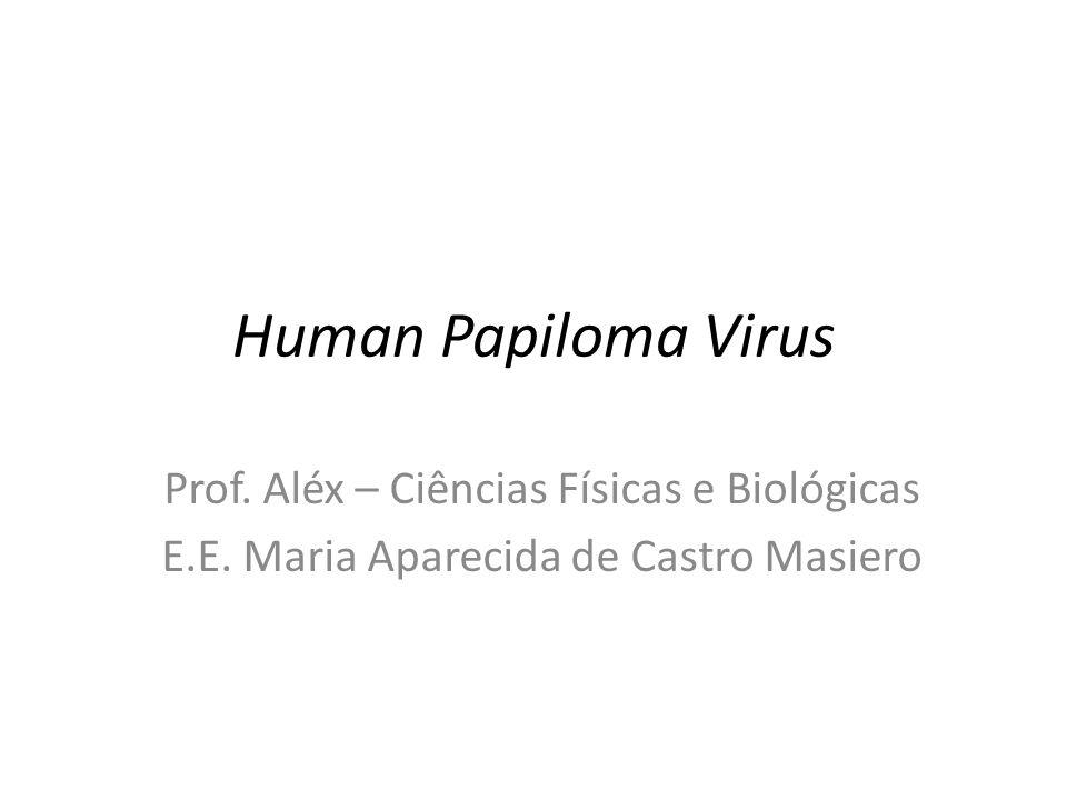 Human Papiloma Virus Prof. Aléx – Ciências Físicas e Biológicas